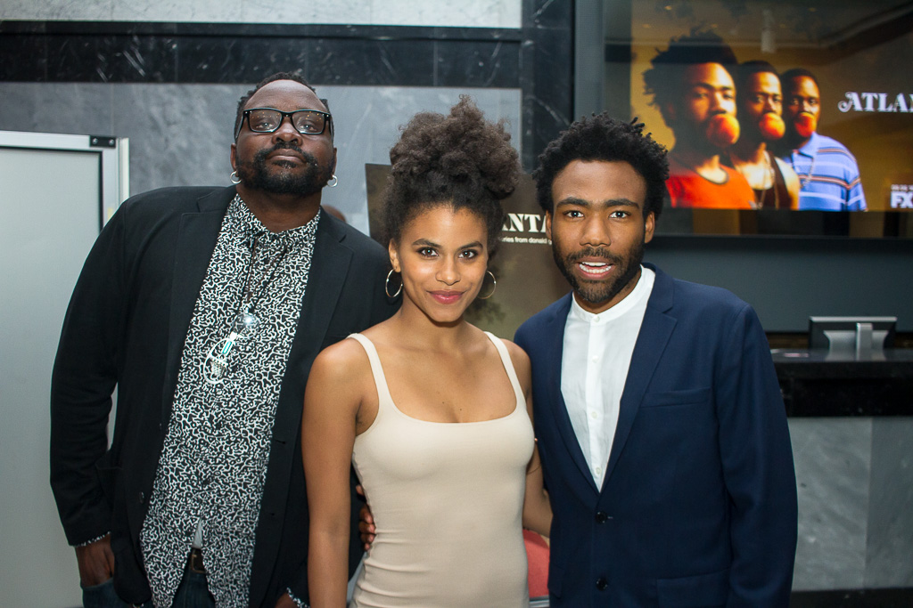 Donald Glover, Brian Tyree Henry and Zazie Beetz