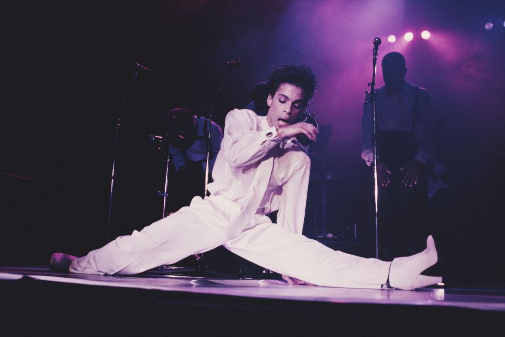 Prince At Wembley Arena