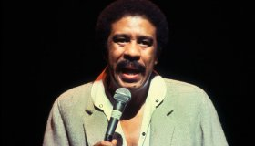 Comedian Richard Pryor Performing On Stage