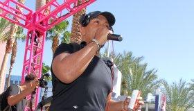 Timbaland performs at Go Pool Las Vegas