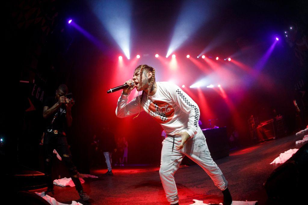 Tekashi 6ix9ine live in Copenhagen.