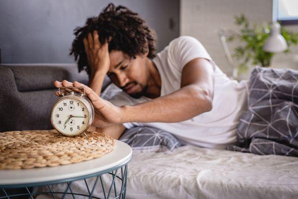 The awakening is stressful