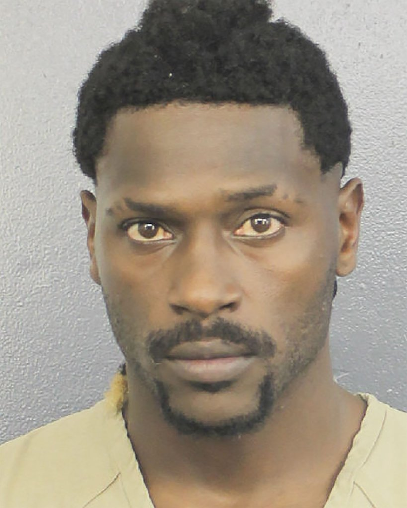 Antonio Brown mugshot