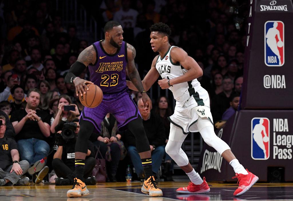 LeBron James & Giannis Antetokounmpo Headline NBA All-Star 2020 Starters