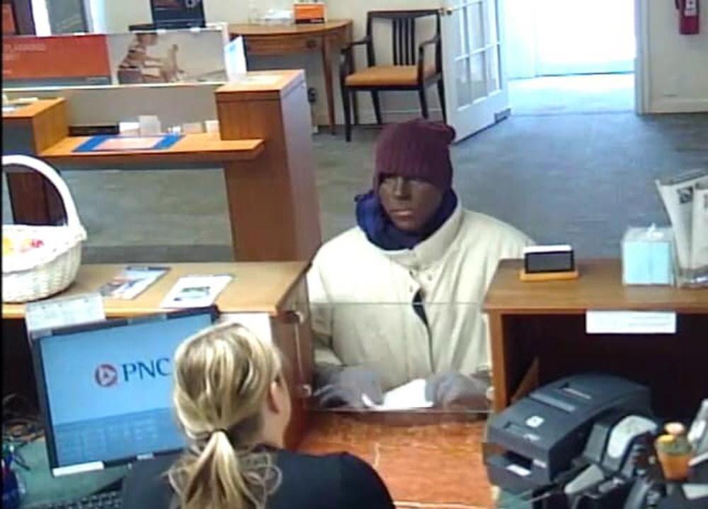 Blackface bank robber