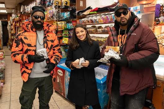 Desus Nice and The Kid Mero explore the Bronx with Alexandria Ocasio-Cortez