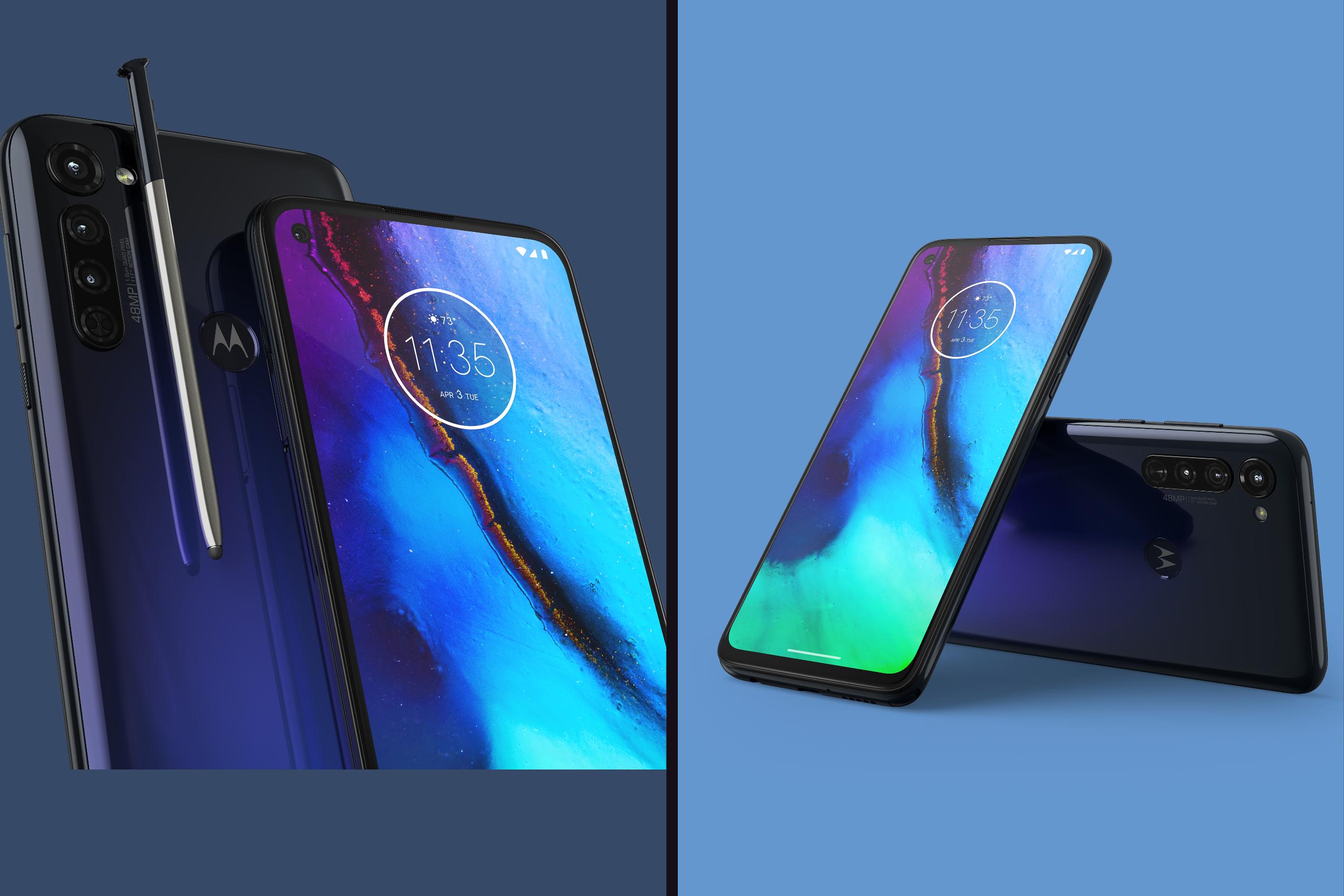 Motorola G Power and Motorola G Stylus