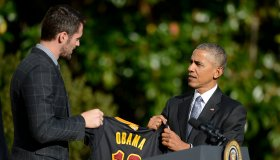 2016 NBA Champions Cleveland Cavaliers Visit The White House