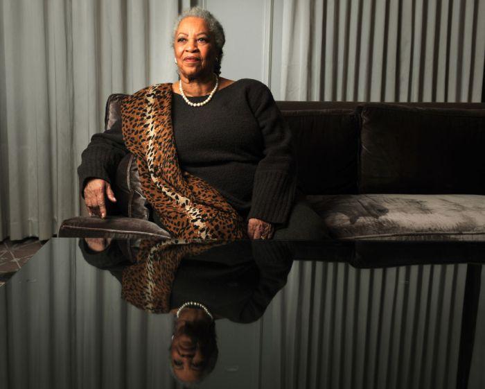 WASHINGTON, D.C. Toni Morrison poses for a portrait at the