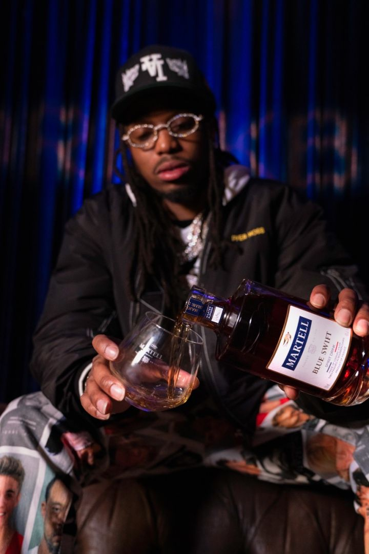 Quavo at Martell x BET All Star Weekend Experience