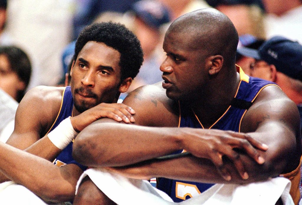 Shaq Declares Himself & Kobe Bryant The Best Duo In Tribute Freestyle