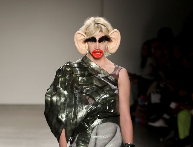 Fashion Institute Of Technology's Fine Art Of Fashion And Technology Show