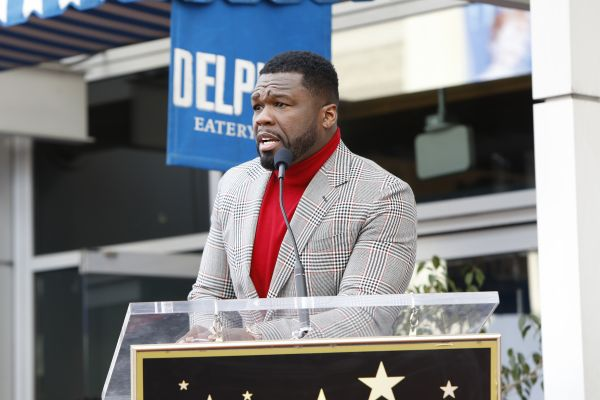 50 Cent Hollywood Walk of Fame Star Ceremony