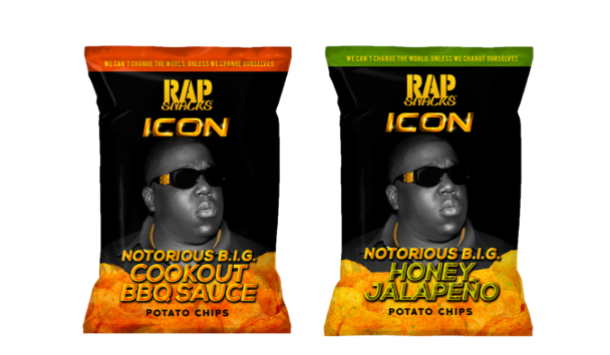 Rap Snacks Notorious B.I.G. Potato Chips