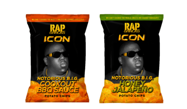 Rap Snacks Notorious B.I.G. Potato Chips