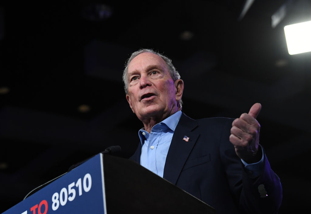 Presidential Candidate Mike Bloomberg