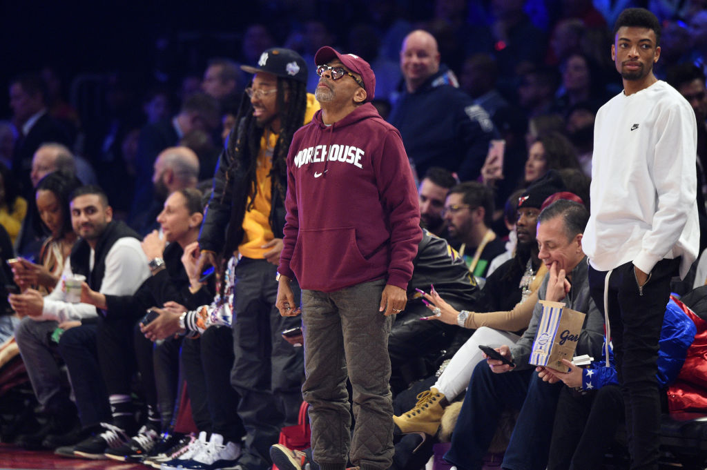 Spike Lee Says He Is Done Watching The Knicks For The Rest of The Season