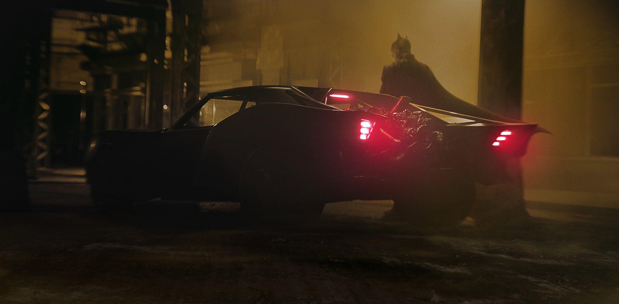 The Batman Batmobile