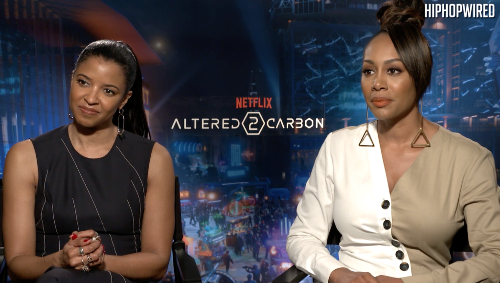 Simone Missick and Renee Elise Goldsberry - Altered Carbon 2
