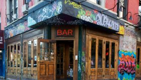 Bar on Lower East Side, NYC.