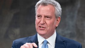 NYC Mayor Bill de Blasio announces new rules for restaurants...