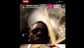 Boosie on IG Live for QTD