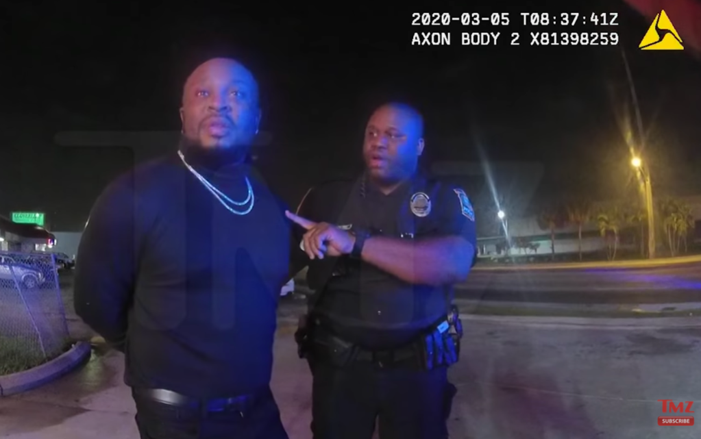 Pleasure P arrest footage