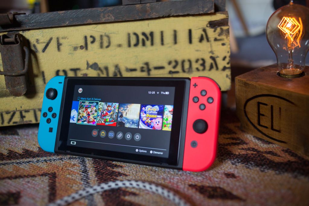 Due To High Demand, The Nintendo Switch His Hard To Find At Retail Price