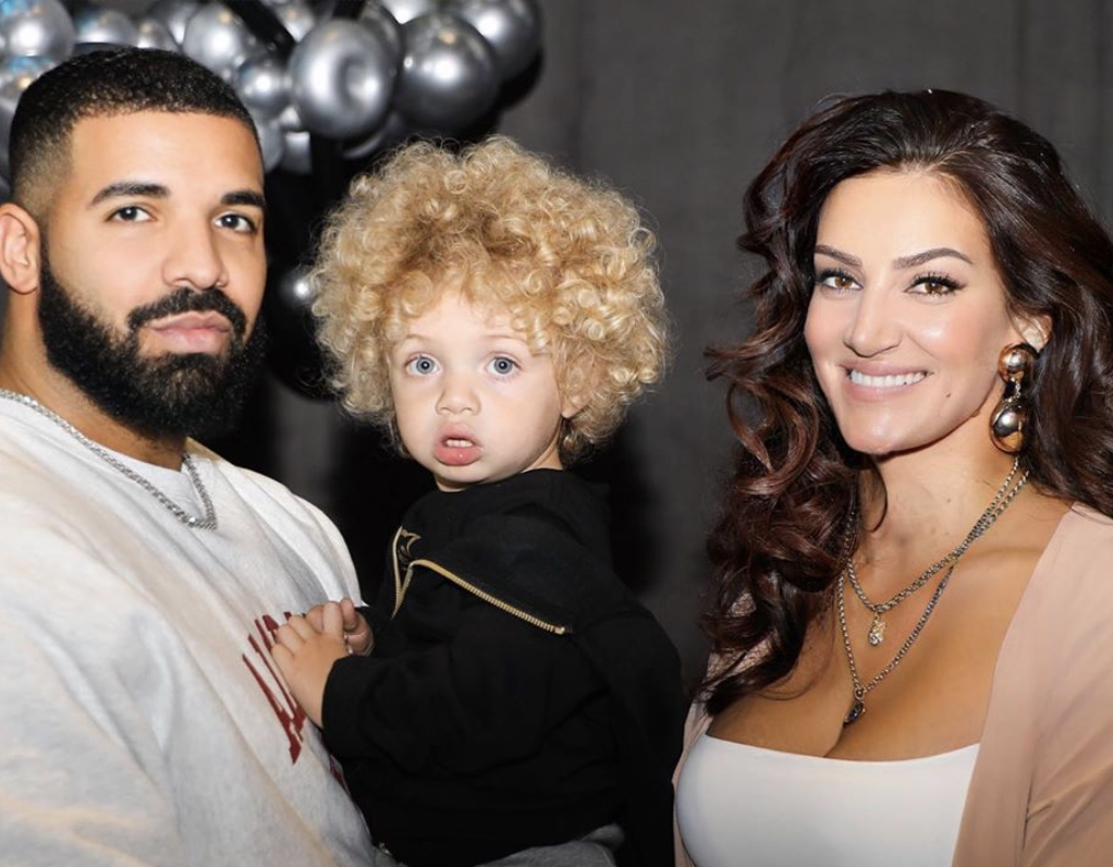 Drake, Adonis and Sophie Brussaux