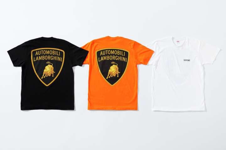 Supreme X Automobili Lamborghini Collection