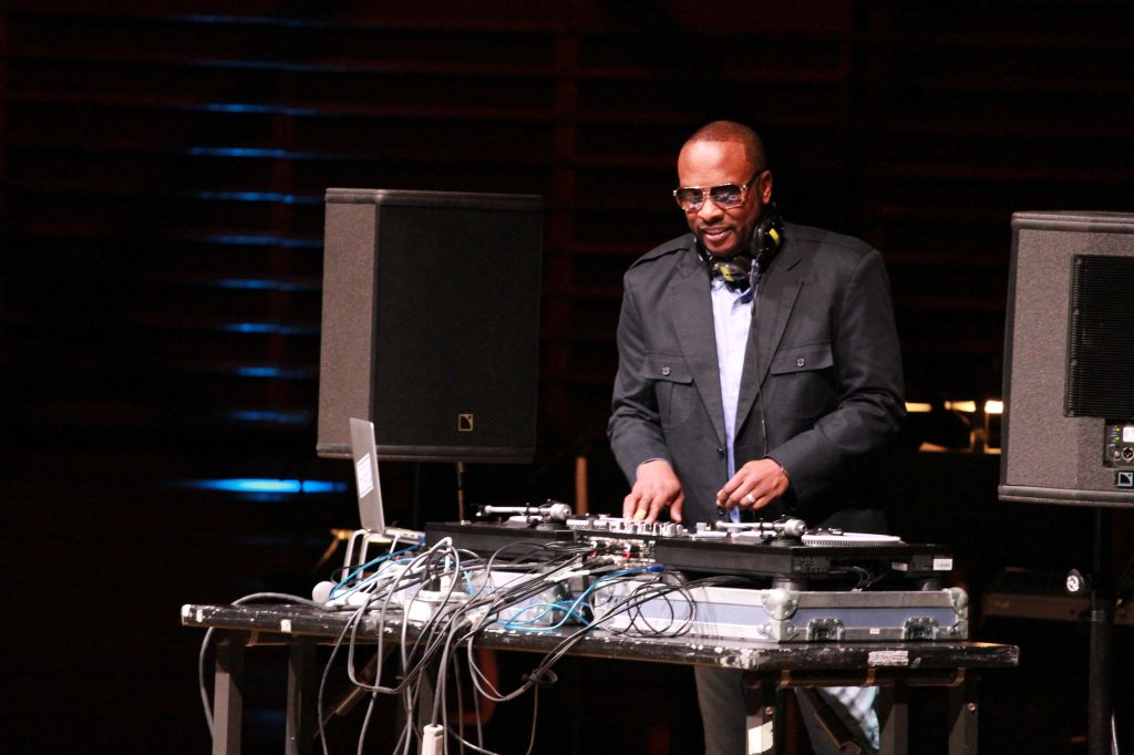 DJ Jazzy Jeff(Jeffrey Allen Townes) at the 2019 Marian Anderson awards where Kool and the Gang were honored at the Kimmel Center in Philadelphia