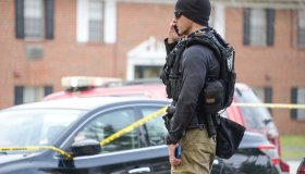 At least one US Marshal shot in Baltimore, police say