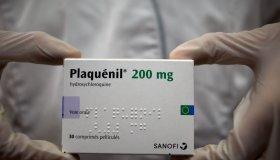 Covid-19 Disease : Box Of Hydroxychloroquine