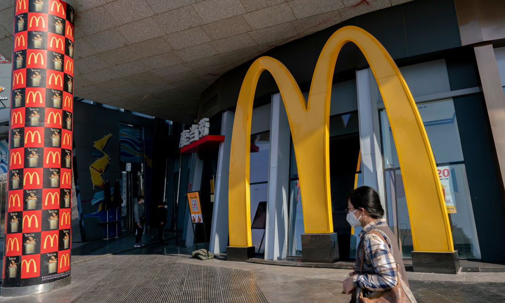 McDonald's Restaurant Located In China Posts Sign Banning Black People