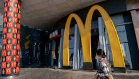 A McDonald's restaurants runs its business by only accepting...