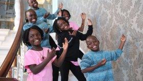 Ugandan orphans dance into hearts of Istanbulites