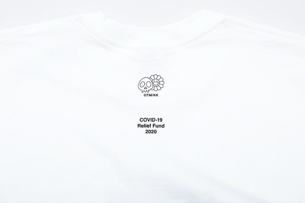 Supreme x Takashi Murakami Box Logo tee