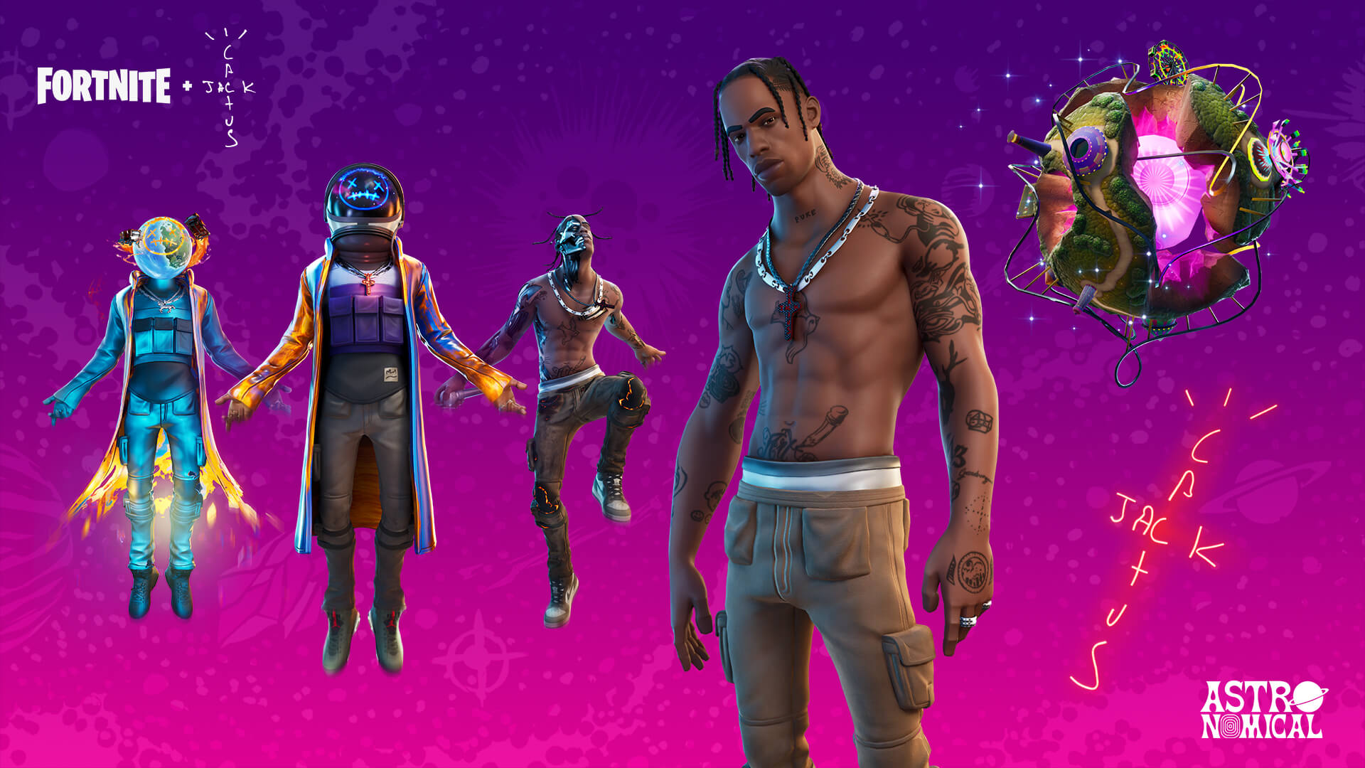 Travis Scott's Astronomical 'Fortnite' Sets All-Time Record, Gamers React