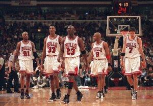 K.C. Johnson: 1995-96 Bulls vs. this seasonís Warriors: Debate centers around defense
