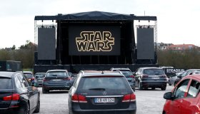 Drive-in Cinema Takes Place In Aarhus