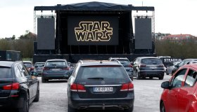 Drive-in Cinema Takes Place In Aarhus