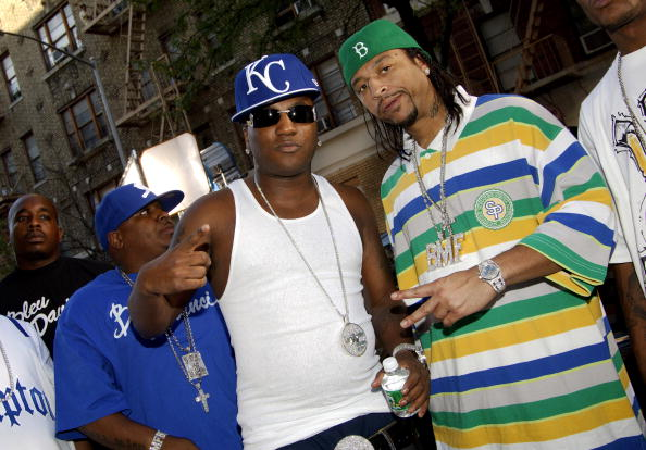 """Bleu Davinci on Location for """"Streets on Lock Up"""" featuring Young Jeezy and Fabolous Music Video - September 21, 2005"""