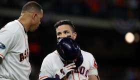 American League Championship Series Game 4: Boston Red Sox v. Houston Astros