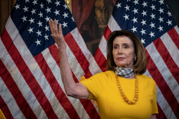 Speaker Pelosi Holds Ceremonial Swearing-In For Republican Representatives