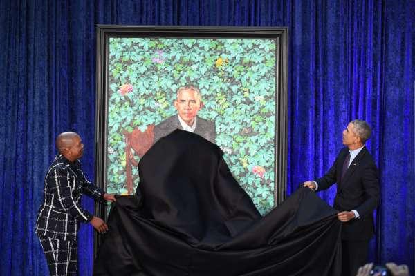 President Barack Obama and First Lady Michelle Obama Portraits - Washington, DC