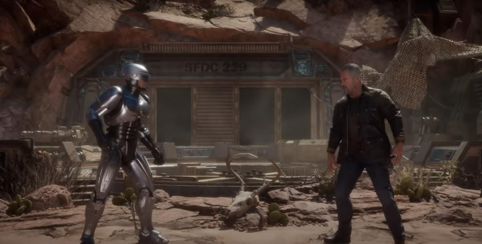 RoboCop & Terminator Issue Cybernetic Fades In 2 Mortal Kombat 11 Trailers