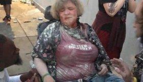 Jennifer Wheelchair Target Stab