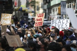 U.S.-NEW YORK-PROTESTS