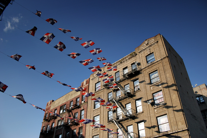 Dominican Republic Flags, Washington Heights