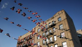 Dominican Republic Flags, Washington Heights